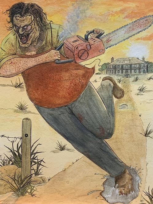 Leatherface- Texas Chainsaw Massacre