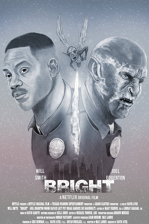 Bright- Alternative Movie Poster