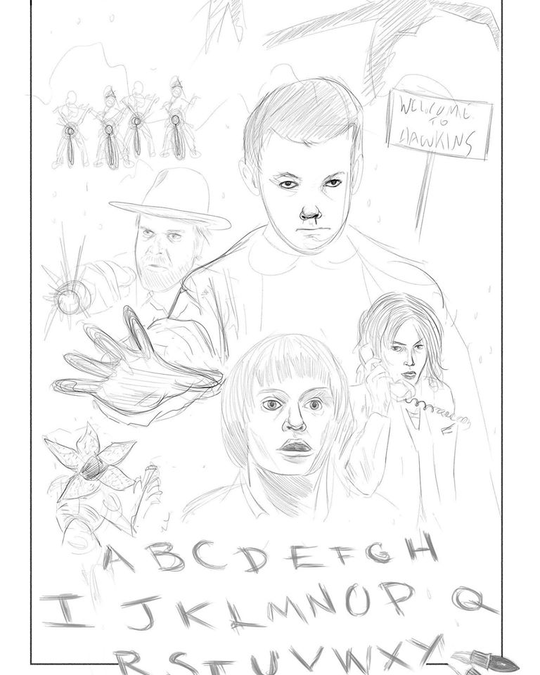 Stranger Things Rough