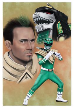 Power Rangers-Green Ranger Tommy