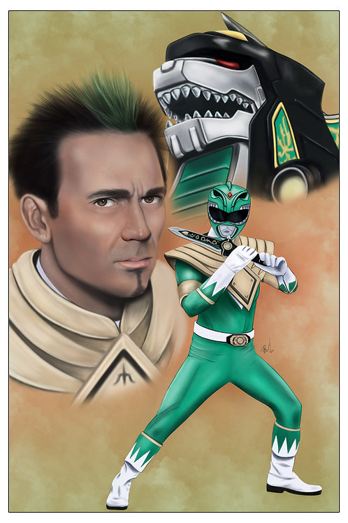 Power Rangers-Green Ranger Tommy