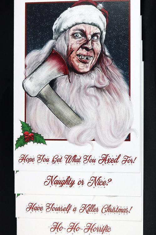 Psycho Santa 4 Card Bundle