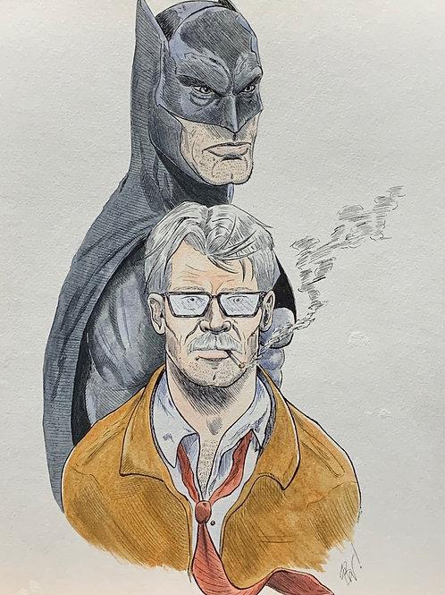 Batman and Commissioner Gordon