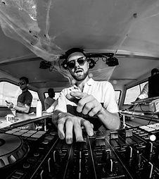 DJ LYNXX at his boat party