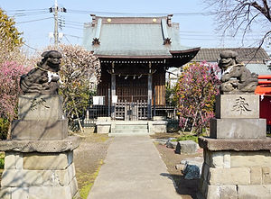 Hakusan Jinja Tōkyō Ōta-ku 白山神社 東京都大田区