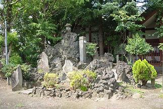 千住川田浅間神社富士塚 Senju Kawada Sengen Jinja Fujizuka