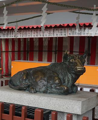 nade-ushi 撫で牛