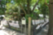 素盞雄神社の富士塚