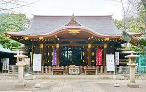 Shibuya Hikawa Jinja 渋谷氷川神社