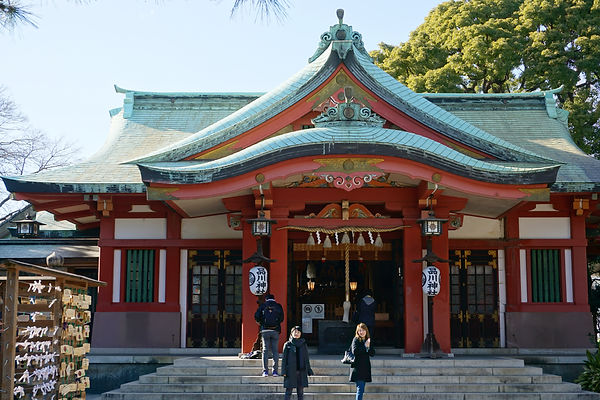 Shinagawa Shrine   品川神社