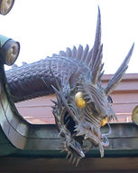 Ebara Shrine Dragon