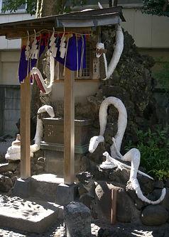 The White Snakes of Benzaiten