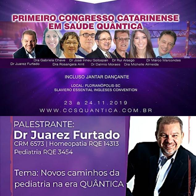 CONGRESSO  CATARINENSE EM  SAÚDE QUÂNTICA