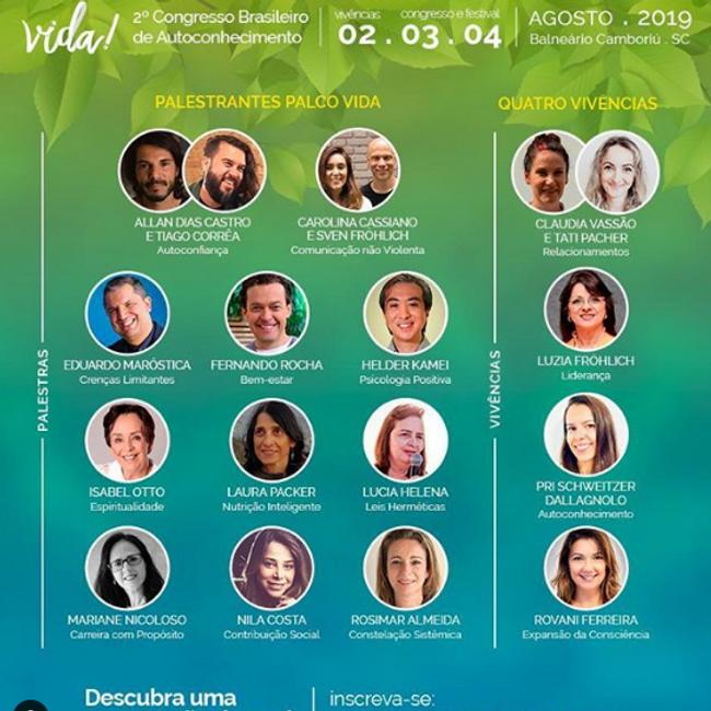 RODA DE CONVERSA - Vida! Festival