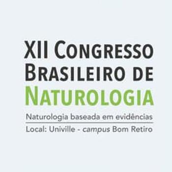 XII Congresso Brasileiro de Naturologia