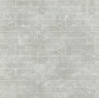 טפט דגם בטון צורות גאומטריות- אפור