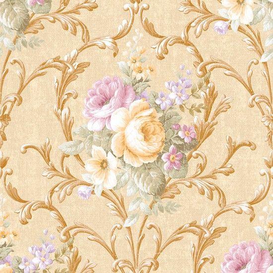 טפט פרחים מדגם:vb3002