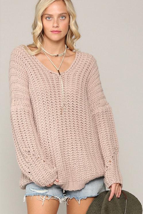Sierra Oversized Knit Sweater