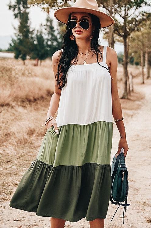 Dani Color Block Dress