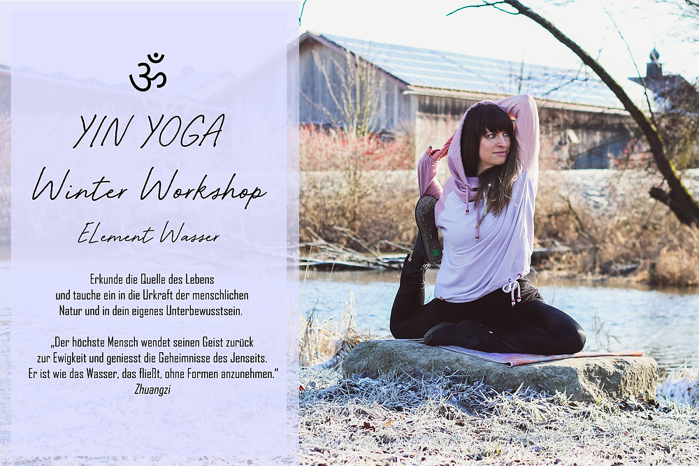 Yin Yoga, Workshop, Deggendorf, Yoga, Wellness, Element Wasser, TCM