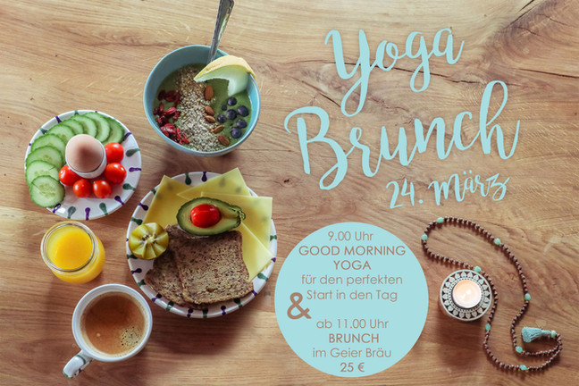 1. YOGA BRUNCH IN REISBACH