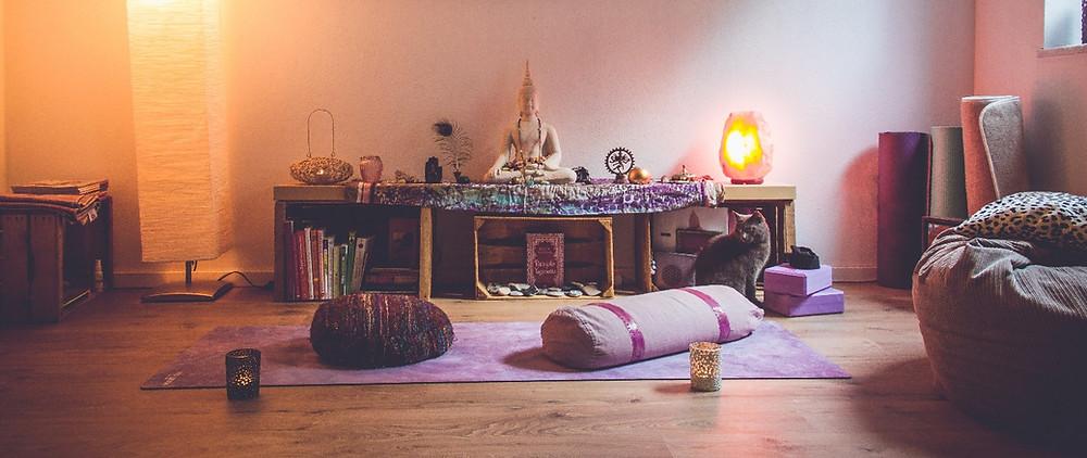 Mein Lieblingsplatz Zuhause - mein Yogaspace