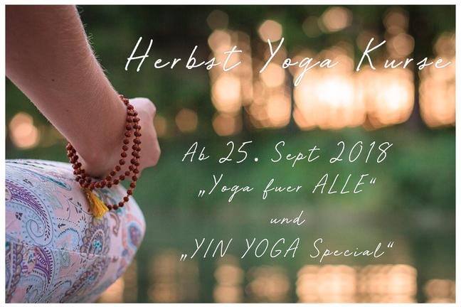 Herbst Yoga Kurse