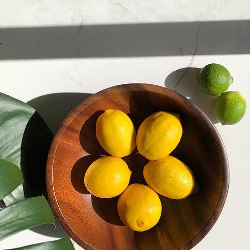 Eco Friendly Acacia Wooden Salad Bowl   Dinnerware