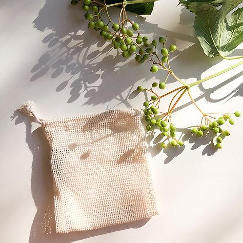 Eco Cotton Mesh Bag (Mini) | On the go Mini Bag