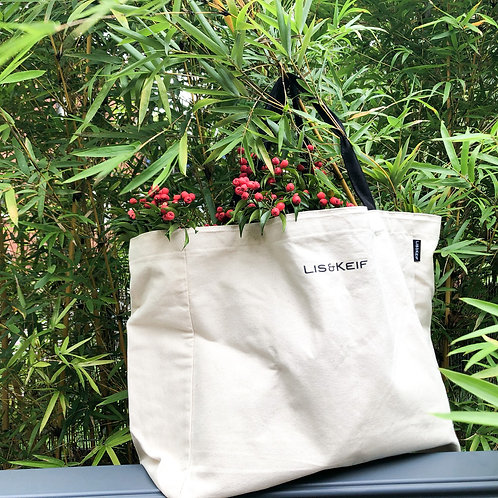Eco Cotton Shopper Bundles (XL Tote + 4 XL Produce Bags)