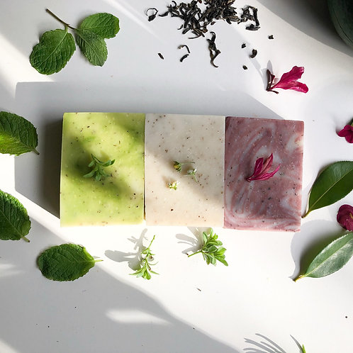 Neem Leaves Trio Gift Box (Neem Botanic, Cranberry, Avocadao & Spearmint)