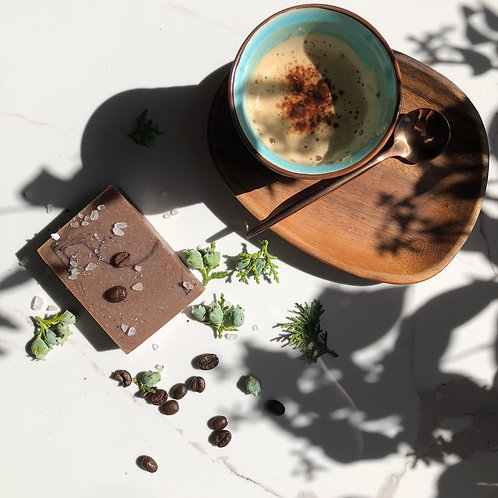 Caramel Coffee Soap