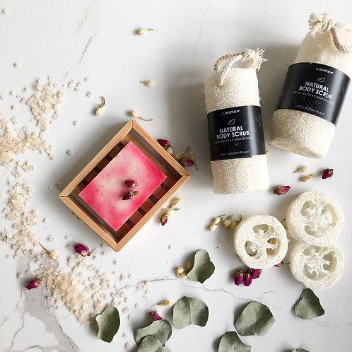 Eco Friendly Bamboo Soap Holder (Contemporary)