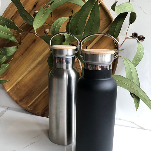 Sustainable Double Wall Stainless Steel Water Bottle