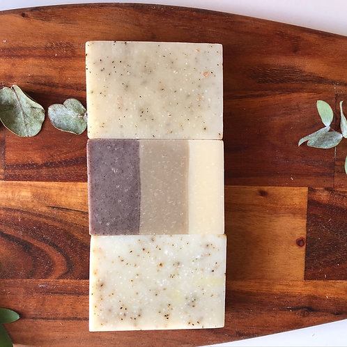 Delux Trio Soap Gift Box (Pine Forest, Peppermint & Sea Salt, Seaweed & Moss)
