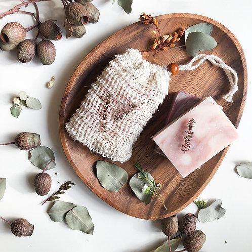 Organic Biodegradable Sisal Soap Bag