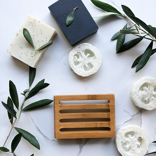 Eco Friendly Bamboo Soap Holder (Classic)