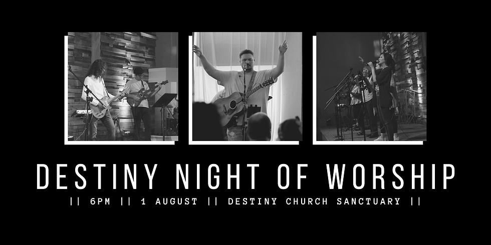 Destiny Night Of Worship