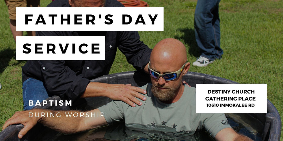 Father's Day At Destiny Church Gathering Place