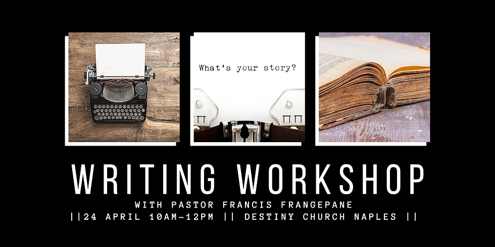 Writing Workshop With Pastor Francis