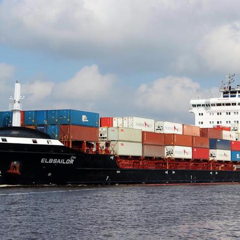 Der Elbsailor von der Elbdeich Reederei