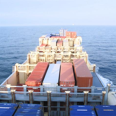 Stina von der Reederei Breuer
