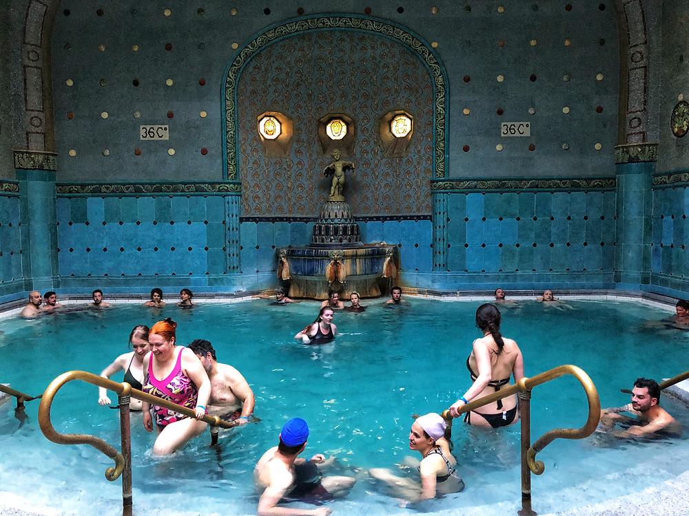 Runner-up image. Budapest, Gellert Baths