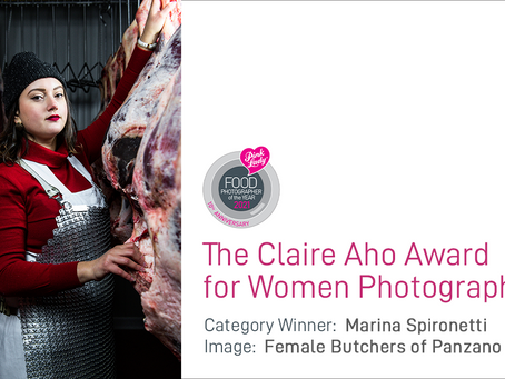 First winner of the Claire Aho Award for Women Photographers