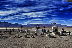 What is left - an abandoned cemetery in Southern Bolivia