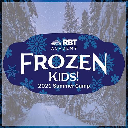 Frozen Kids: RBT Academy Summer Camp