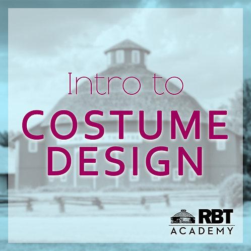 Intro to Costume Design