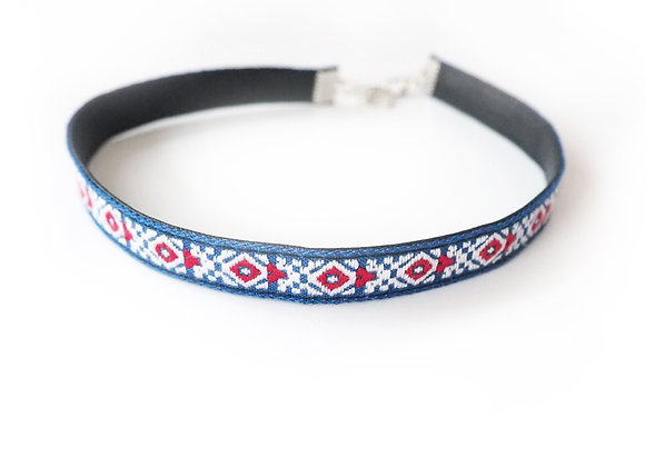Charlotte Embroidered Choker