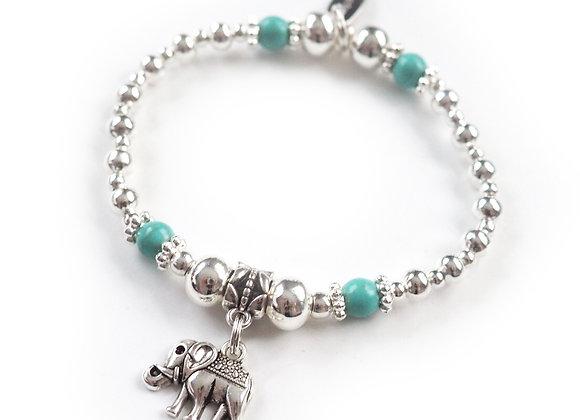 Pretty Little Doll Elephant Bracelet