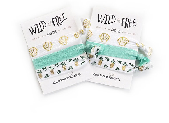 Wild & Free Hair Ties 'Pineapple Of My Eye'